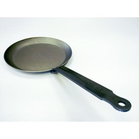 365324 - Mauviel 1830, M'Steel, Тиган за палачинки, черна въглеродна (карбонова) стомана, диаметър 24 см, дръжка от стомана