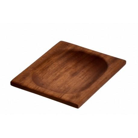 15x12cm, Ироко дървена купа/поднос LAVA (LV AS 412 IR)