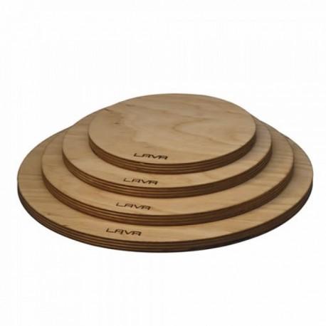 (LV AS 107) Дървен поднос с магнит, 22см